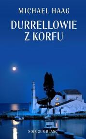 okładka Durrellowie z Korfu, Książka | Michael Haag