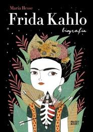 okładka Frida Kahlo Biografia, Książka   Hesse María