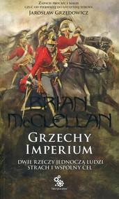 okładka Bogowie Krwi i Prochu Tom 1 Grzechy Imperium, Książka   McClellan Brian