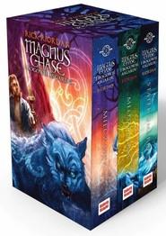 okładka Magnus Chase /  Bogowie Asgardu Pakiet, Książka | Rick Riordan