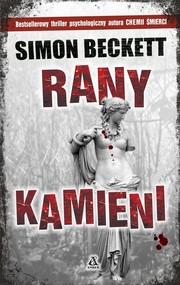 okładka Rany kamieni, Książka | Simon Beckett