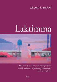 okładka Lakrimma, Książka | Ludwicki Konrad