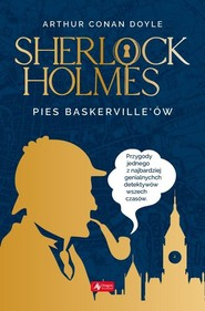 okładka Pies Baskerville'ów, Książka   Arthur Conan Doyle