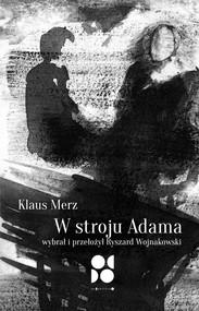 okładka W stroju Adama, Książka | Merz Klaus