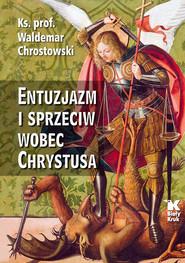 okładka Entuzjazm i sprzeciw wobec Chrystusa Listy do Siedmiu Kościołów Apokalipsy, Książka | prof Waldemar Chrostowski