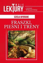 okładka Fraszki pieśni, treny, Książka   Jan Kochanowski