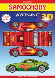 okładka Samochody Wycinanki 3D Naklejki w prezencie, Książka | Krzysztof  Tonder