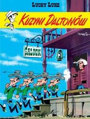 okładka Lucky Luke Kuzyni Daltonów, Książka | René Goscinny