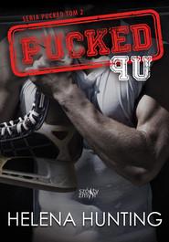 okładka Pucked Up Seria Pucked tom 2, Książka | Hunting Helena