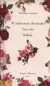 okładka W malinowym chruśniaku, Trzy róże, Ballady, Książka   Bolesław  Leśmian