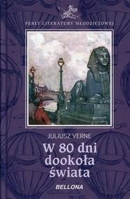 okładka W 80 dni dookoła świata, Książka | Juliusz Verne