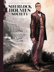 okładka Sherlock Holmes Society Tom 1 Przygoda w Keelodge, Książka | Sylvain Cordurie