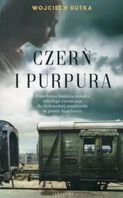 okładka Czerń i purpura, Książka | Wojciech Dutka