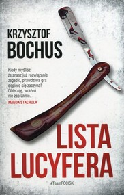 okładka Lista Lucyfera, Książka | Krzysztof Bochus