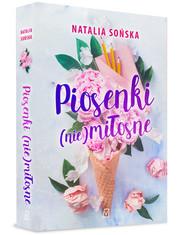 okładka Piosenki (nie)miłosne, Książka | Natalia Sońska