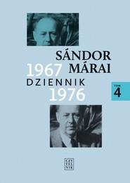 okładka Dziennik 1967-1976, Książka | Sándor Márai