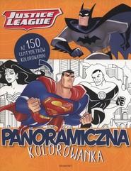 okładka Justice League Panoramiczna kolorowanka, Książka |