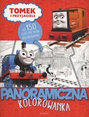 okładka Tomek i przyjaciele Panoramiczna kolorowanka, Książka |