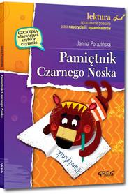 okładka Pamiętnik Czarnego Noska z opracowaniem, Książka   Janina Porazińska
