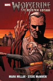 okładka Wolverine Staruszek Logan, Książka | Millar Mark