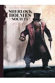 okładka Sherlock Holmes Society T.2 Czarne są ich dusze, Książka | Corduri  Stéphane Bervas Sylvain