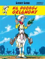 okładka Lucky Luke Na podbój Oklahomy Tom 14, Książka | René Goscinny