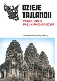 okładka Dzieje Tajlandii, Książka   Chris Baker, Pasuk Phongpaichit
