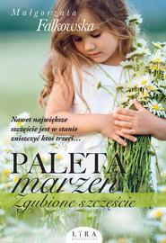 okładka Paleta marzeń Zgubione szczęście, Książka | Małgorzata Falkowska