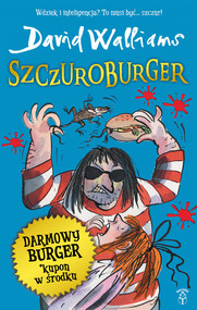 okładka Szczuroburger, Książka | David  Walliams