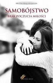 okładka Samobójstwo Brak poczucia miłości, Książka |