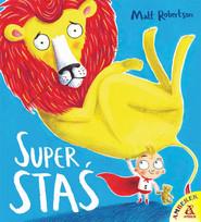 okładka Super Staś, Książka | Robertson Matt