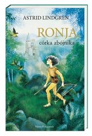 okładka Ronja córka zbójnika, Książka | Astrid Lindgren