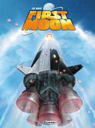 okładka First Moon, Książka   Wight Joe