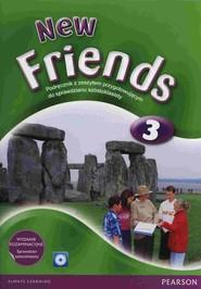 okładka New Friends 3 Podręcznik z płytą CD i Sprawdzianem Szóstoklasisty szkoła podstawowa, Książka | Carol Skinner, Mariola Bogucka