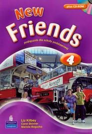 okładka New Friends 4 Podręcznik z płytą CD, Książka | Liz Kilbey, Carol Skinner