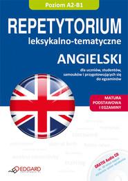 okładka Angielski Repetytorium leksykalno-tematyczne z płytą CD, Książka |