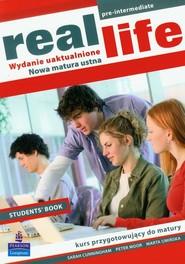 okładka Real Life student's book Szkoła ponadgimnazjalna, Książka | Sarah Cunningham, Peter Moor, Marta Umińska