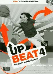 okładka Upbeat 4 Language Builder + CD Gimnazjum, Książka | Rod Fricker, Ingrid Freebairn, Jonathan Bygrave