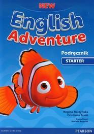 okładka New English Adventure Starter Podręcznik z płytą DVD, Książka | Cristiana Bruni, Regina Raczyńska