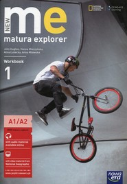 okładka New Matura Explorer 1 Workbook A1/A2 Szkoła ponadgimnazjalna, Książka | John Hughes, Alina Łubecka, Hanna Mierzyńska, Anna  Milewska