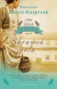 okładka Skrawek pola, Książka | Kasia Bulicz-Kasprzak