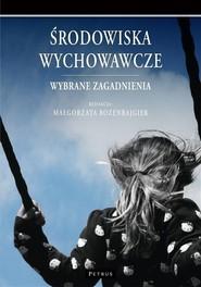 okładka Środowiska wychowawcze, Książka | Rozenbajgier Małgorzata