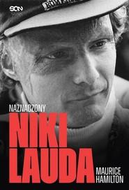 okładka Niki Lauda Naznaczony, Książka | Hamilton Maurice