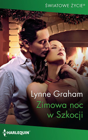 okładka Zimowa noc w Szkocji, Książka | Lynne Graham