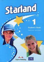 okładka Starland 1 Student's Book + i-eBook, Książka | Virginia Evans, Jenny Dooley