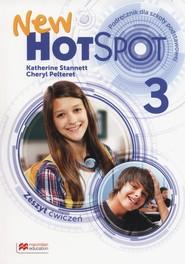 okładka New Hot Spot 3 Zeszyt ćwiczeń Szkoła podstawowa, Książka | Katherine Stannett, Cheryl Pelteret