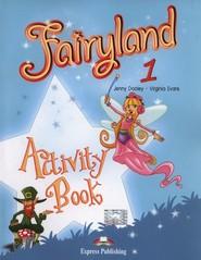 okładka Fairyland 1 Activity Book, Książka   Jenny Dooley, Virginia Evans