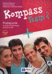 okładka Kompass Team 2 Podręcznik + CD Szkoła podstawowa, Książka | Elżbieta Reymont, Agnieszka Sibiga, Małgorzata Jezierska-Wiejak