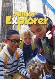 okładka Junior Explorer 4 Zeszyt cwiczeń Szkoła podstawowa, Książka   Sue Clarke, Marta Mrozik, Dorota Wosińska