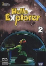 okładka Hello Explorer 2 Zeszyt ćwiczeń Szkoła podstawowa, Książka   Philip James, Dorota Sikora-Banasik, Marta Mrozik